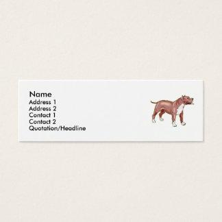 Pitbull Mini Business Card