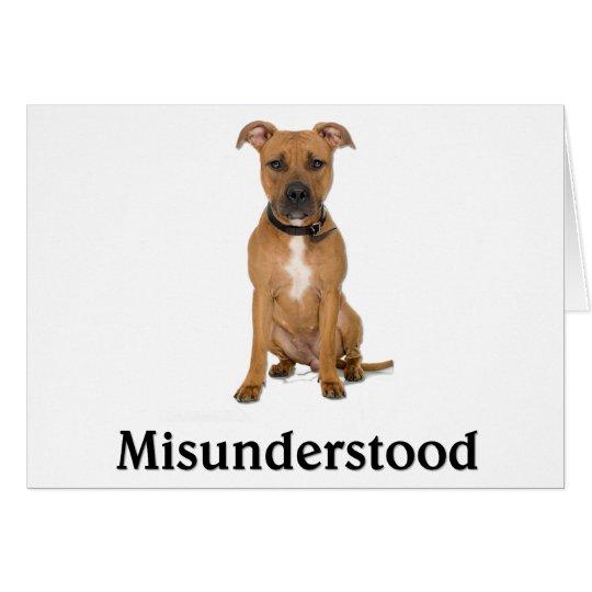 Pitbull - Misunderstood Card