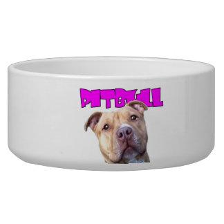 Pitbull Mom Dog Bowl