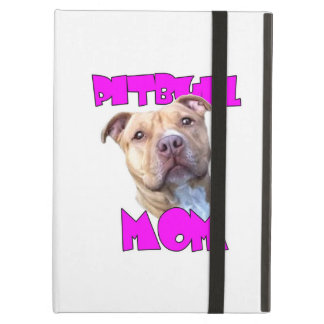 Pitbull Mom Dog Cover For iPad Air