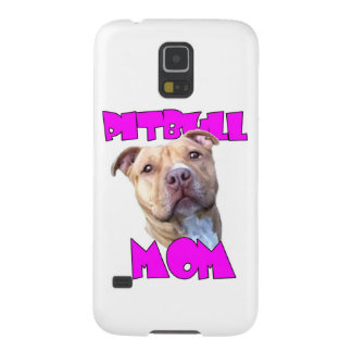 Pitbull Mom Dog Galaxy S5 Cover