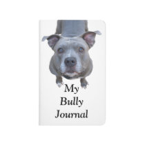 Pitbull My Bully Pocket Journal