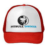 pitbull owner mesh hats