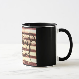 Pitbull patriot mug