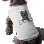 Pitbull personalizado camisetas de perro