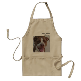 Pitbull Play With Me Adult Apron