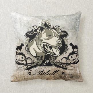 Pitbull Projekt Dog Illustrated Pillow