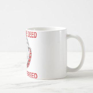 Pitbull Punish The Deed Not The Breed Coffee Mug