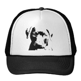 Pitbull puppy face trucker hat