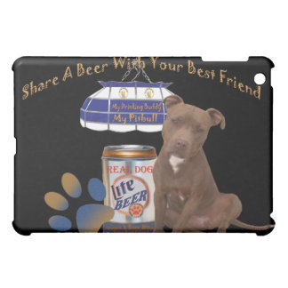 Pitbull Share A Beer IPAD SKINS Cover For The iPad Mini