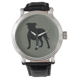 Pitbull Silhouette Watch