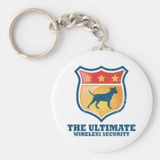 Pitbull Terrier americano Llavero Redondo Tipo Pin