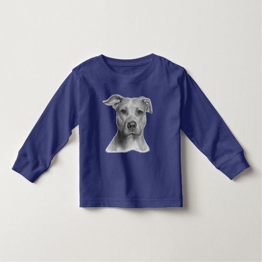 Pitbull Terrier americano Playeras