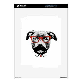 Pitbull Terrier del inconformista Calcomanía Para El iPad 2
