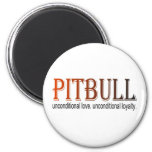 pitbull unconditional magnet