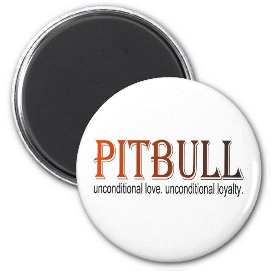 pitbull unconditional magnet