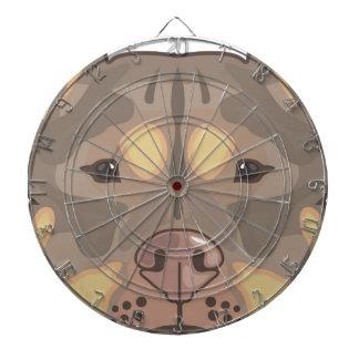 Pitbull vector dartboard