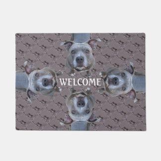 Pitbull Welcome Doormat