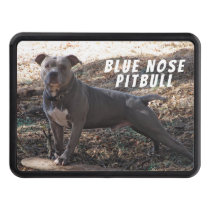Pitbull with Skateboard Hitch Cover