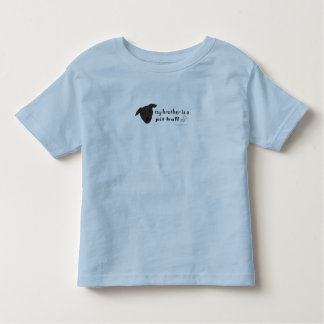 PitBullBlackBrother Toddler T-shirt
