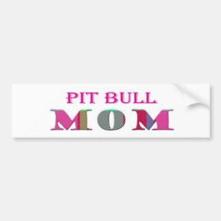 PitBullMom Bumper Stickers