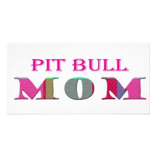 PitBullMom Tarjeta Personal Con Foto