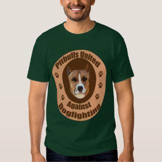 Pitbulls Against dogfighting Tee Shirt