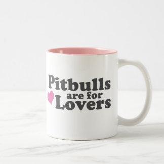 Pitbulls are for Lovers Mug