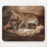 Pitbulls - el Mousepad lateral más suave Alfombrilla De Ratones