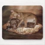 Pitbulls - The Softer Side Mousepad