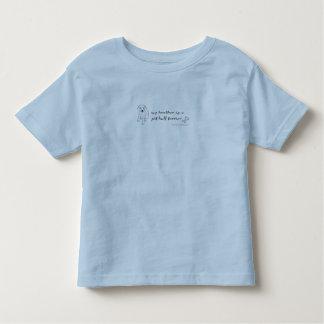 PitBullTerrierWtBrother Toddler T-shirt