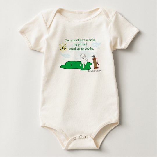 PitBullWt Baby Bodysuit