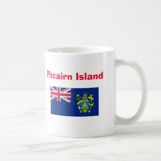 Pitcairn Island* Bold PN Coffee Mug
