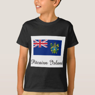 Pitcairn Island Flag Design T-Shirt