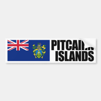 Pitcairn Islands Flag Bumper Sticker
