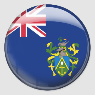Pitcairn Islands Flag Classic Round Sticker