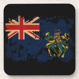 Pitcairn Islands Flag Coaster
