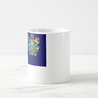 Pitcairn Islands Flag Coffee Mug