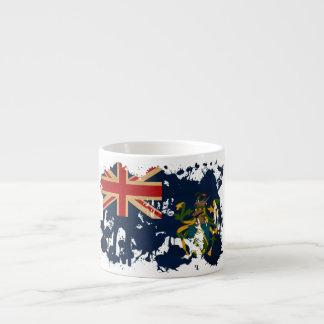 Pitcairn Islands Flag Espresso Cup