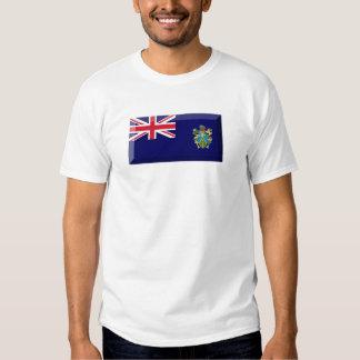 Pitcairn Islands Flag Jewel Shirt