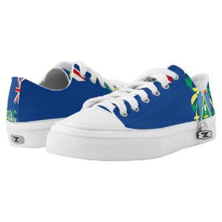 Pitcairn Islands Flag --.png Low-Top Sneakers