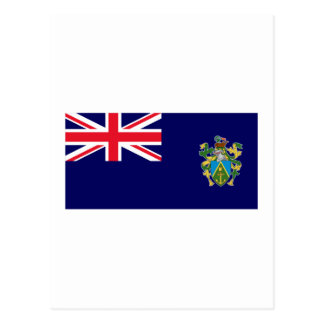 Pitcairn Islands Flag Postcard