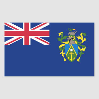 Pitcairn Islands Flag Rectangular Sticker