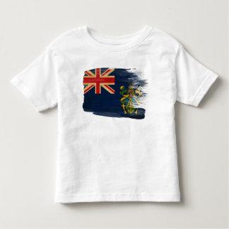 Pitcairn Islands Flag Tee Shirt