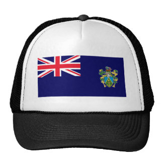 Pitcairn Islands Flag Trucker Hat