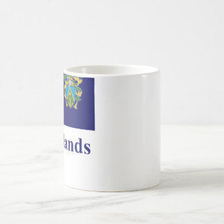 Pitcairn Islands Flag with Name Coffee Mug