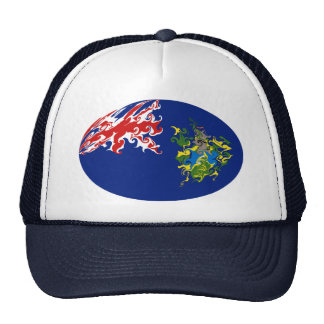 Pitcairn Islands Gnarly Flag Hat