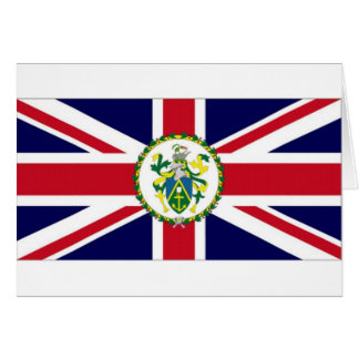 Pitcairn Islands Governor Flag Card
