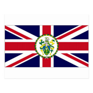 Pitcairn Islands Governor Flag Postcard