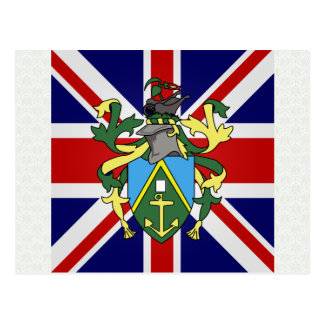 Pitcairn Islands High quality Flag Post Cards